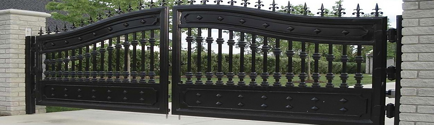 Electric gates automation for swing and sliding